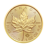 1 oz Goldmünze - kanadisches Ahornblatt - 2016