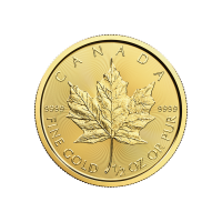 1/2 oz Goldmünze - kanadisches Ahornblatt - 2016