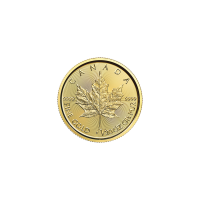 1/20 oz Goldmünze - kanadisches Ahornblatt - 2016