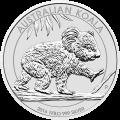 1 kg | Kilo Silbermünze australischer Koala 2016