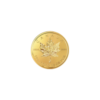 1 gram 2016 MapleGram25 Single Gold Coin
