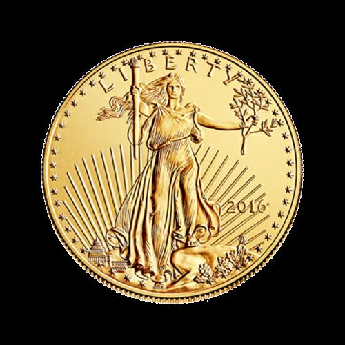 """Eine Bildwiedergabe der Freiheitsstatue von Augustus Saint-Gauden und die Worte """"LIBERTY 2016"""" (FREIHEIT 2016)"""