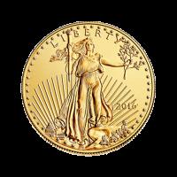 1/2 oz Goldmünze - amerikanischer Adler - 2016
