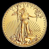 1 oz Goldmünze - amerikanischer Adler - 2016