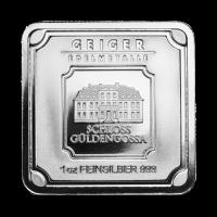 1 oz Geiger Edelmetalle Silberbarren
