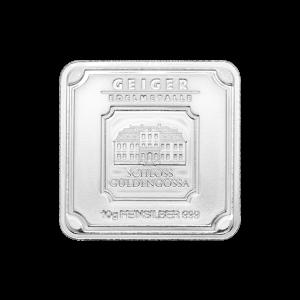 Lingot d'argent Geiger Edelmetalle de 10 grammes