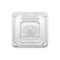 Barra in argento 10 g Geiger Edelmetalle