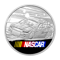 1 oz Silbermedallion - NASCAR® - 2016