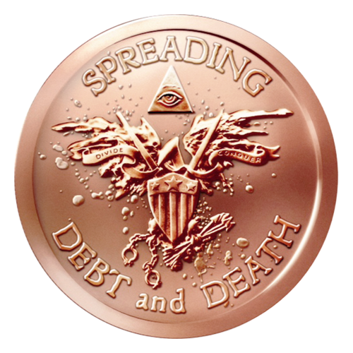 1 oz 2015 Warbird Copper Round
