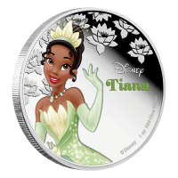 1 oz 2016 Disney Princess Tiana Silver Coin