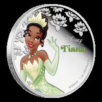 1 oz Silbermünze Disney Prinzessin Tiana 2016
