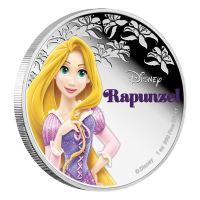 1 oz 2016 Disney Princess Rapunzel Silver Coin