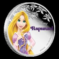 1 oz Silbermünze - Disney Prinzessin Rapunzel - 2016