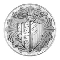 1 oz Silbermedaille - RMR Shield