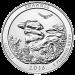 """Ein Abbild von George Washington und die Worte """"United States of America Quarter Dollar Liberty In God We Trust"""" (Vereinigte Staaten von Amerika Vierteldollar Freiheit wir vertrauen auf Gott)."""
