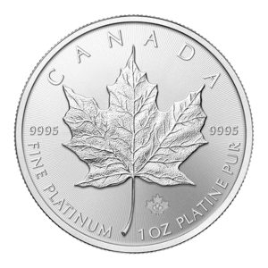1 oz 2016 Canadian Maple Leaf Platinum Coin