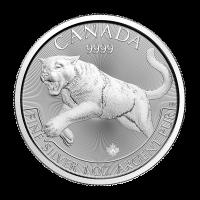 1 oz 2016 Predator Series | Cougar Silver Coin
