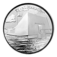 2 oz American Landmarks Series | Pearl Harbor Ultra High Relief Silver Round