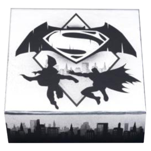 1/2 oz Silbermünze - Batman v Superman: Dawn of Justice™   Logo (2016)