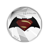 1/2 oz Silbermünze - Batman v Superman: Dawn of Justice™ | Logo (2016)