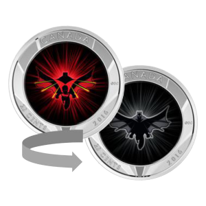 2016 Batman v Superman: Dawn of Justice™ Lenticular Cupronickel Coin