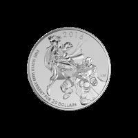 1/4 oz 2016 Batman v Superman: Dawn of Justice™ | $20 for $20 Silver Coin