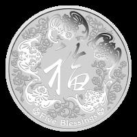 1 oz Silbermünze - Fünf Segnungen - Perth Prägeanstalt 2016