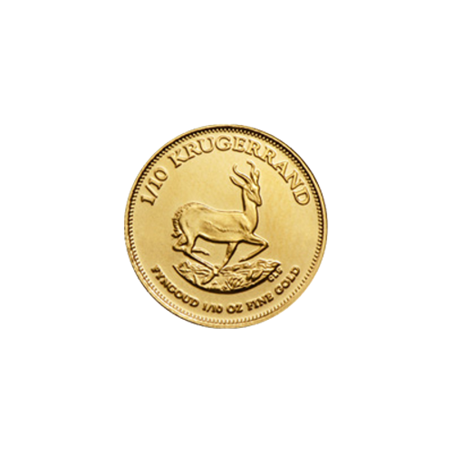 1/10 oz Random Year Krugerrand Gold Coin
