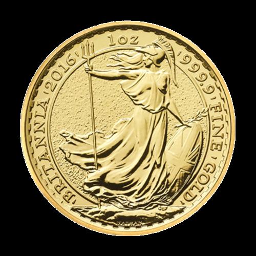 1 oz Goldmünze - Britannia mit Jahr des Affen Sonderprägung - 2016