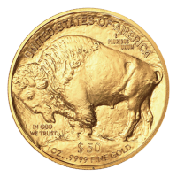 Moneda de Oro Búfalo 2016 de 1 oz