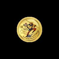 Pièce d'argent colorée Roi des singes de la Perth Mint 2016 de 1/20 once