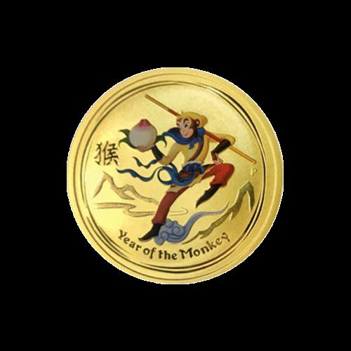 """Das Abbild von Königin Elisabeth II. und die Worte  """"Elizabeth II Australia 25 Dollars 1/4 oz 9999 Gold 2016"""" (Elisabeth II. Australien 25 Dollar 1/4 Unze 9999 Gold 2016)"""