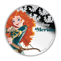 1 oz 2016 Disney Prinses Merida Zilveren Munt