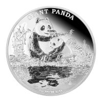 1 oz 2016 Endangered Species Giant Panda Silver Proof Coin