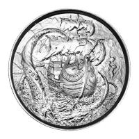 2 oz Privateer Collection | Kraken Ultra High Relief Silver Round