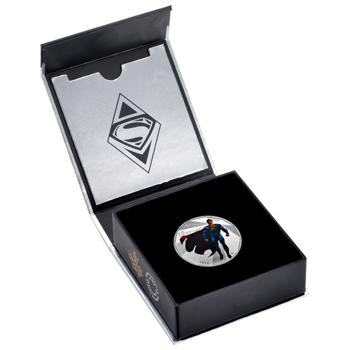 1/2 oz Silbermünze - Batman v Superman: Dawn of Justice™ | Superman (2016)