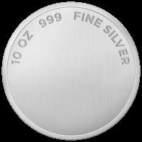 10 oz ausgewähltes reines Silber