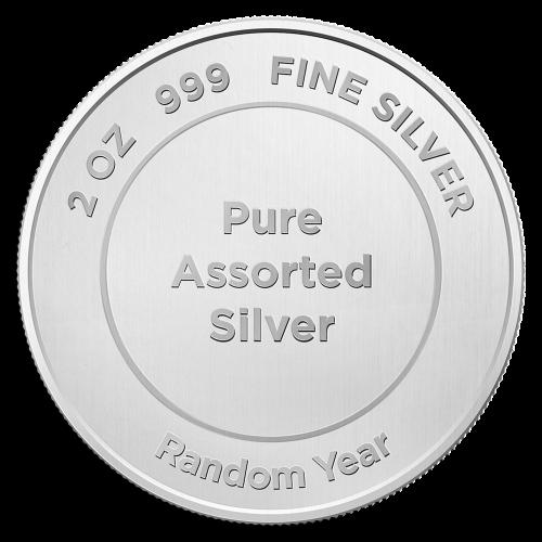 2 oz Rent Assortert Sølv