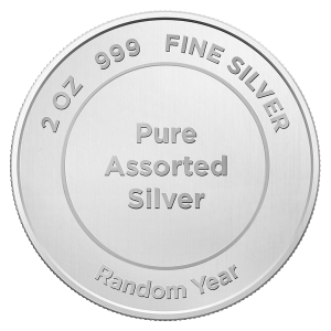 2 oz Pure Assorted Silver