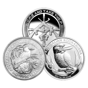 1 oz Assorted Premium Silver Coin or Round