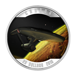 1 oz 2016 RCM Star Trek™ | Enterprise Silver Proof Coin