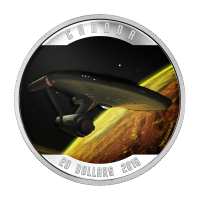 1 oz Silbermünze - RCM Star Trek™ | Enterprise - limitiert 2016