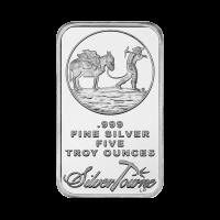 5 oz Silberbarren Schürfer Silvertowne