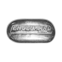 Lingot d'argent Engelhard Australia de 2 onces