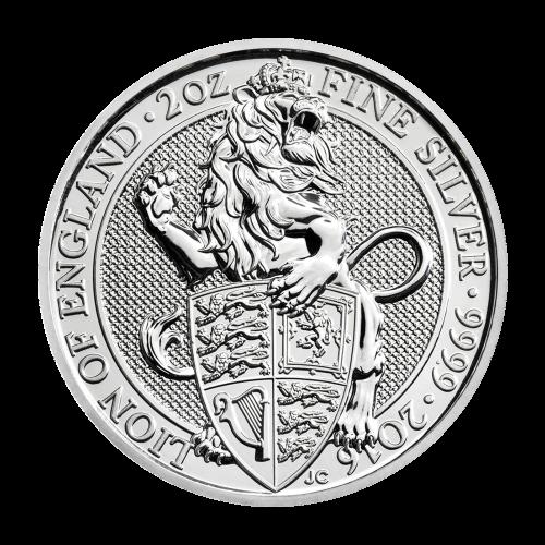 """Das Abbild von Königin Elizabeth II. und die Worte """"Elizabeth II D.G. Regina Reg Fid 5 Pounds"""""""