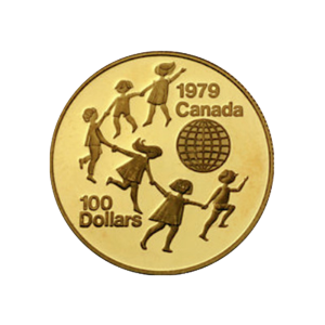 Pièce d'or canadienne variée 22 carats de 1/2 once