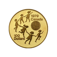 Moneda de Oro Surtido Canadiense de 1/2 oz