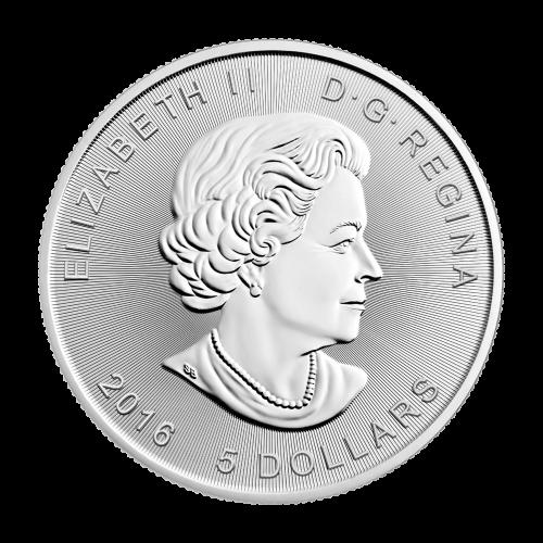 """Supermans™ S-Wappen und die Worte """"Canada 9999 Fine Silver 1 oz Argent Pur"""""""