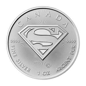 1 oz 2016 Superman™ | S-Shield Silver Coin