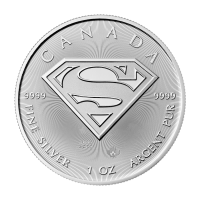 1 oz Silbermünze Superman™ | S-Wappen 2016